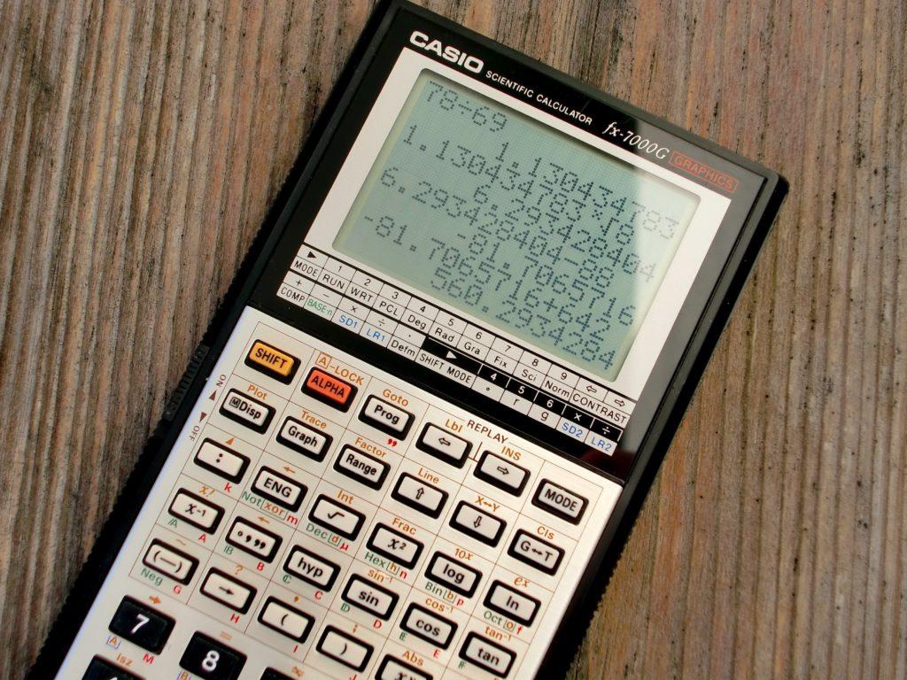 Cómo usar la calculadora científica